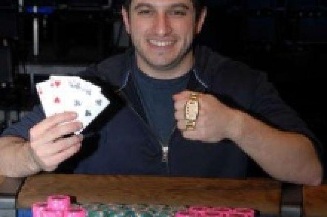 Phil 'OMGClayAiken' Galfond vinner øvelse #28 $5,000 PLO med rebuy i WSOP 2008 0001