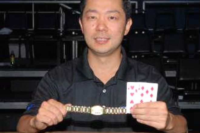 2008 WSOP Event #39 $1,500 No Limit Hold'em: David Woo Claims Bracelet 0001
