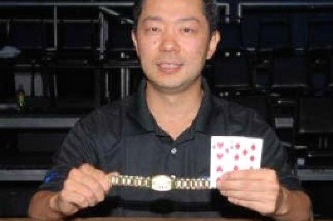 WSOP Event #39 - $1.500 NLHE – David Woo vinder bracelet 0001