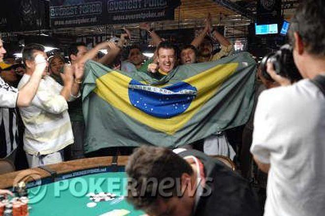 WSOP 2008 Tournoi 48 :  Le Rio danse la samba avec le brésilien Alexandre Gomes dans le 2.000$ No Limit Hold'em 0001