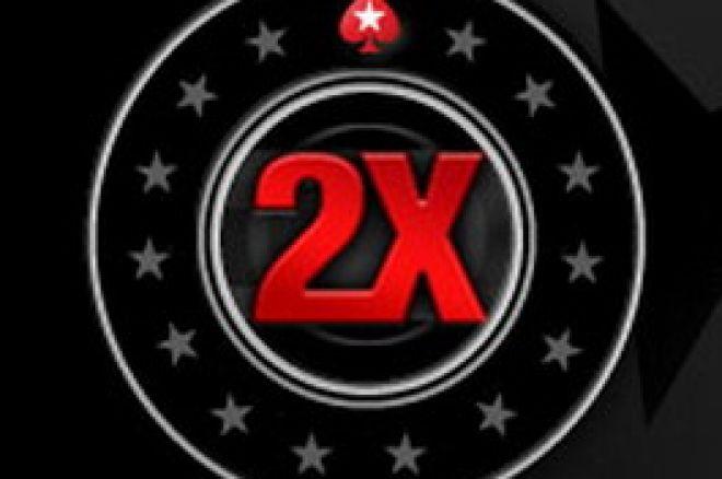 Promoção PokerStars 2X 0001