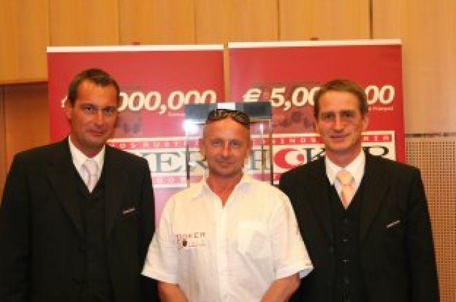 Kurt Haindl gewinnt CAPT Velden Eröffnungsturnier 0001