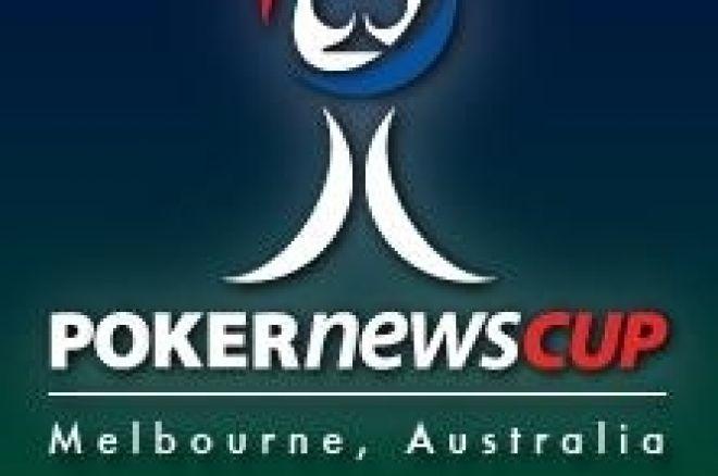 Cinq Freerolls 5.000$ pour la PokerNews Cup Australia 2008 sur Carbon Poker 0001