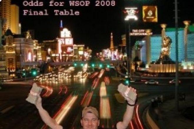 Odds para Mesa Final das WSOP – Cortesia Bodog 0001