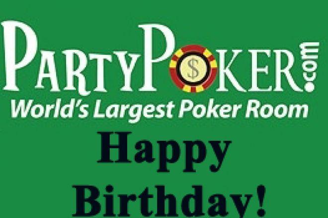 Party Poker Celebra Aniversário 0001