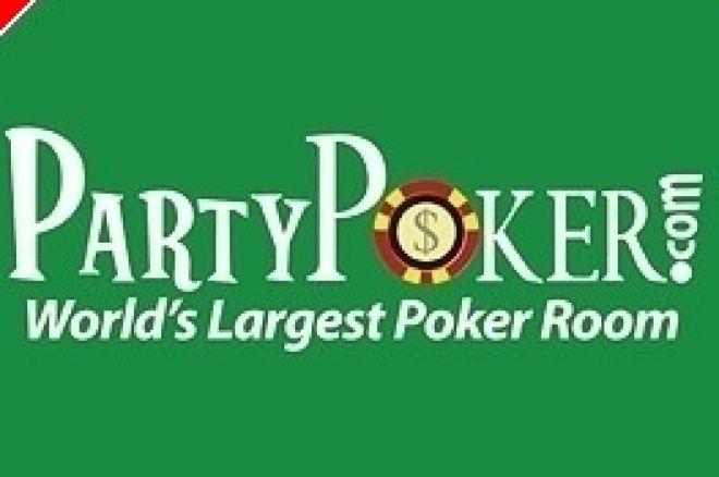 Party Poker Schriftzug