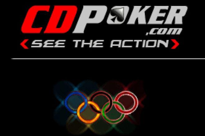 CD Poker nos Jogos Olímpicos – Freerolls Sábado 9 Agosto 0001