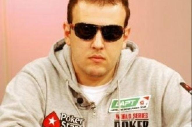 PokerStars LAPT Uruguai Alexandre Gomes Líder Mesa Final 0001