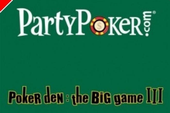 To Poker Den του PartyPoker επιστρέφει 0001