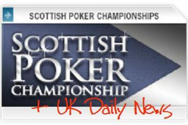 Scottish Poker Championships Schedule Released, DTD Results and More News. 0001