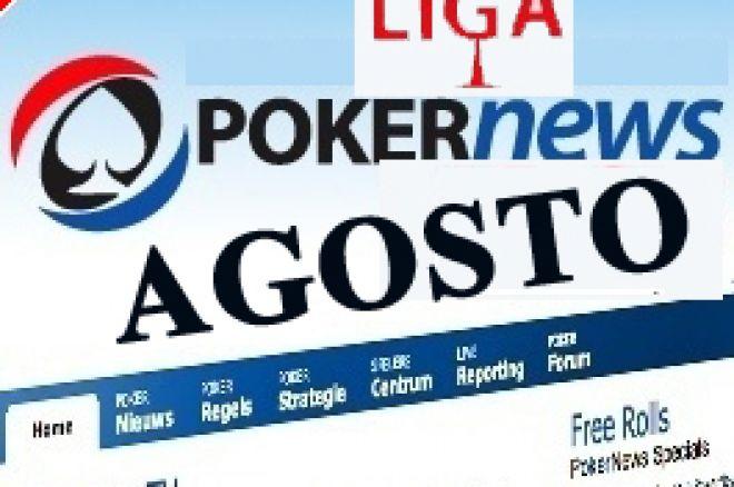 Sulfatan Vence Último Torneio Agosto da Liga PT.PokerNews 0001