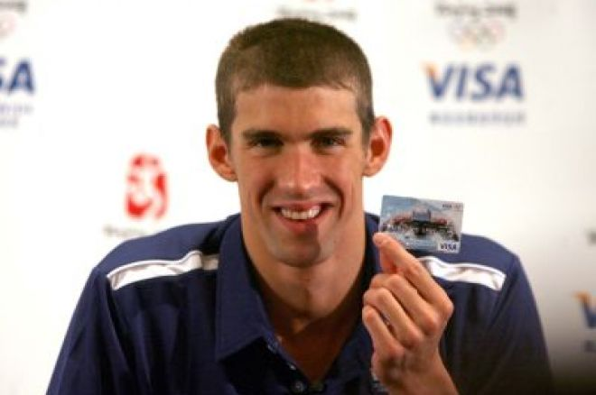 Opinion:  Michael Phelps - So, The Golden Boy Plays Poker 0001