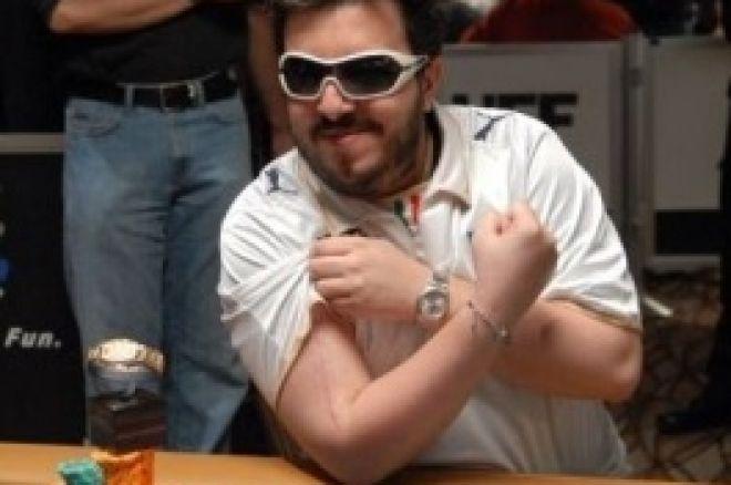 """Joueur de poker professionnel: Max Pescatori, le """"Pirate italien"""" 0001"""
