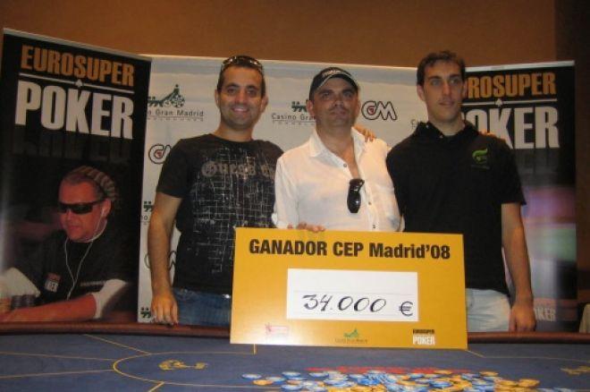 Fernando Fernández, ganador del CEP de Madrid 0001