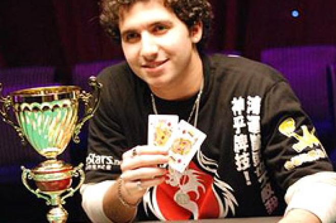 PokerStars.net APPT Macau Main Event Final Table: Online Qualifier Sabat Captures Title 0001