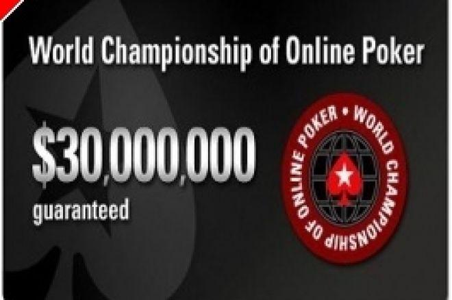WCOOP Event # 5: $10,000 High-Rollers Event + Grote online toernooien afgelopen weekeinde 0001