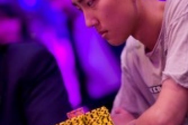 Klart for finalebord i event #1 av WSOPE 2008. 0001