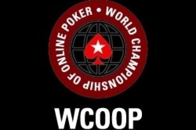 PokerStars 2008 WCOOP Main Event, den 1: 'august35' zatím nejlepší ze 60 soupeřů 0001