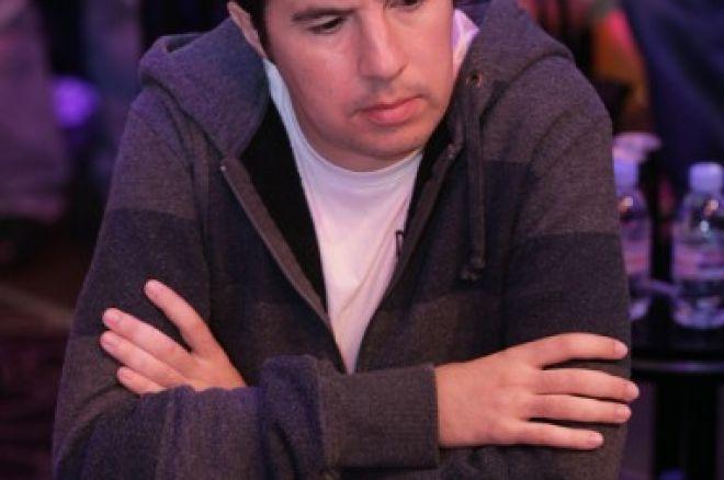 Carlos Tejado en premios en el evento 1 de las WSOPE 0001