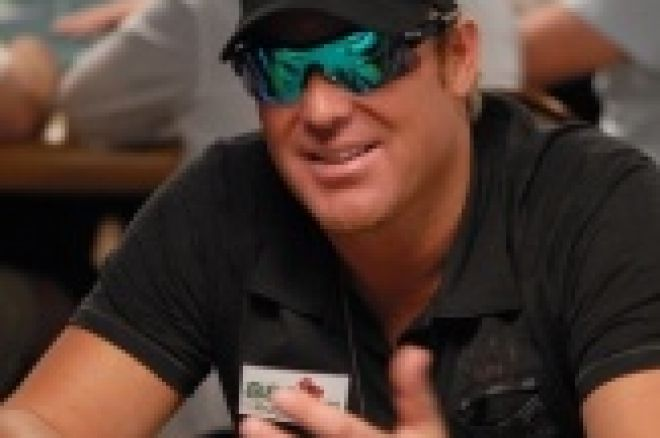 Shane Warne Makes WSOPE Appearance 0001
