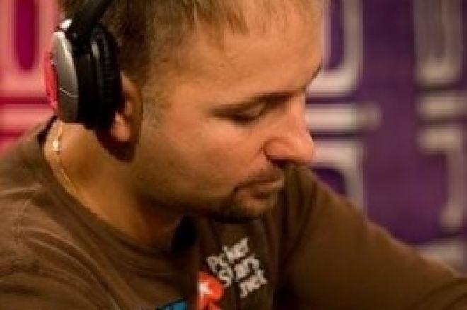 WSOPE Main Event, £10,000 NLHE Tag 1b: Daniel Negreanu führt 0001