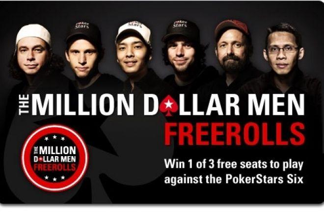 """Jouez votre finale du Main Event avec le """"Million Dollar Men"""" sur PokerStars 0001"""
