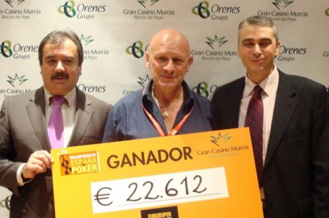 Alfredo Moretti, triunfador del CEP de Murcia 0001