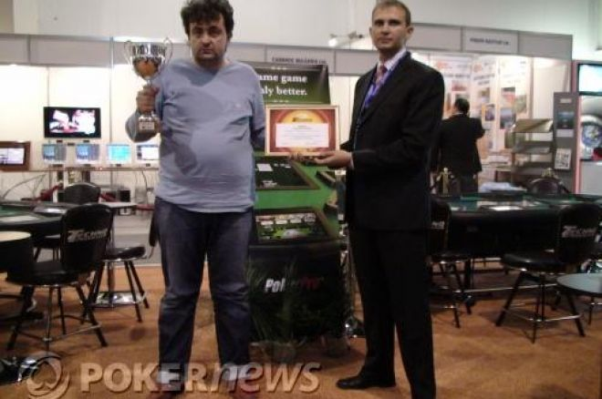 Бончо Кръстев победител в Techno Poker Club Challenge PokerPro... 0001