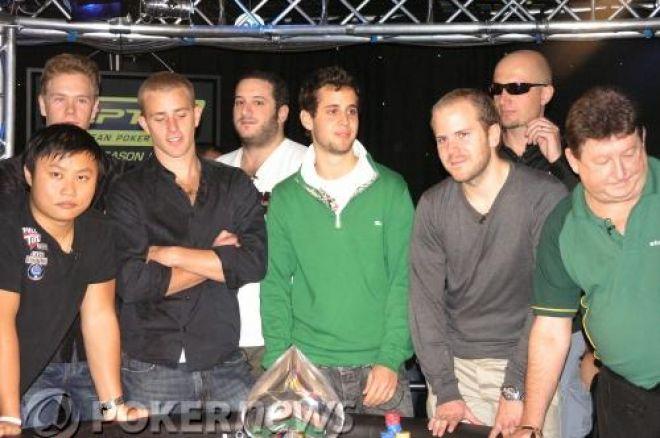 European Poker Tour Londres 2008 - Lellouche qualifié pour la table finale 0001