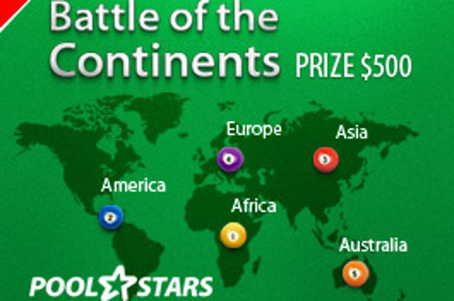 PoolStars Battle of the Continents Launch 0001