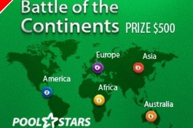 Έναρξη του PoolStars Battle of the Continents 0001