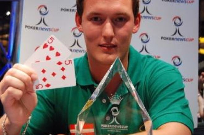 PokerNews Cup, Събитие 5: Kenneth Damm Спечели Титлата 0001
