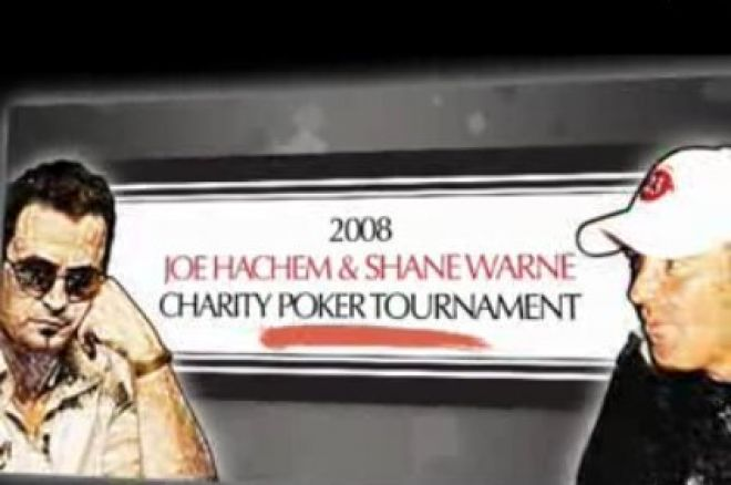 Joe Hachem & Shane Warne Charity Poker Tournament Announced 0001