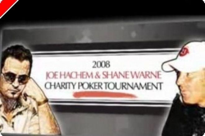 """Célébrités Poker - Tournoi de bienfaisance """"Joe Hachem et Shane Warne"""" le 27 octobre 0001"""