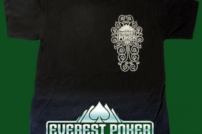 Ganhe Uma T-Shirt Everest Poker 0001