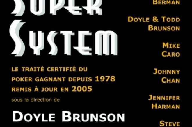 "Livre Poker - ""Poker Super System"" de Doyle Brunson & Co 0001"