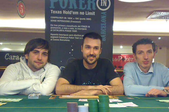 """Alekhine se lleva la primera edición del """"Poker In"""" 0001"""