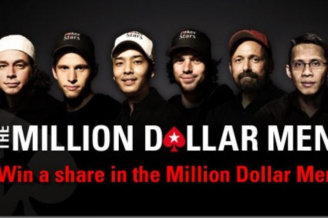 PokerStars 'Million Dollar Men' Promo Offers Players Chance to Share the Wealth 0001