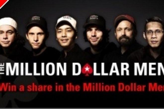 PokerStarsi miljoni dollari meeste kampaania 100 parimale rahalised auhinnad 0001
