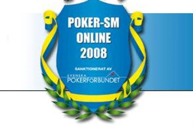 Onlinepoker-SM 2008 - Resulat mörkpoker samt heads-up 0001