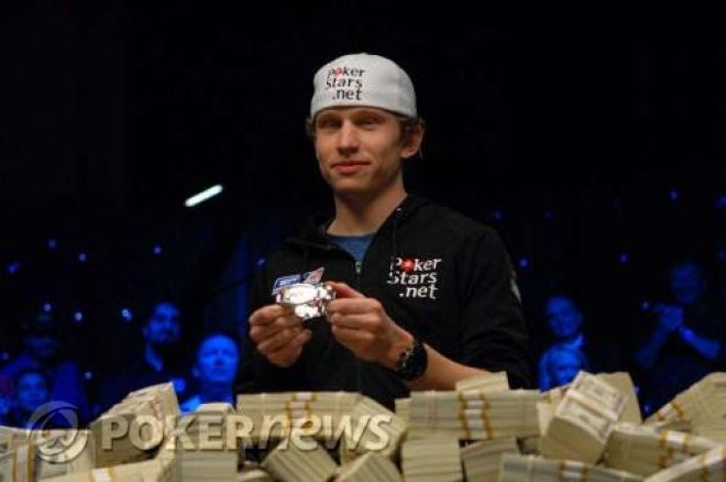 Peter Eastgate is the 2008 WSOP Champion, 'hahila' wins LEOCOP main event and more 0001