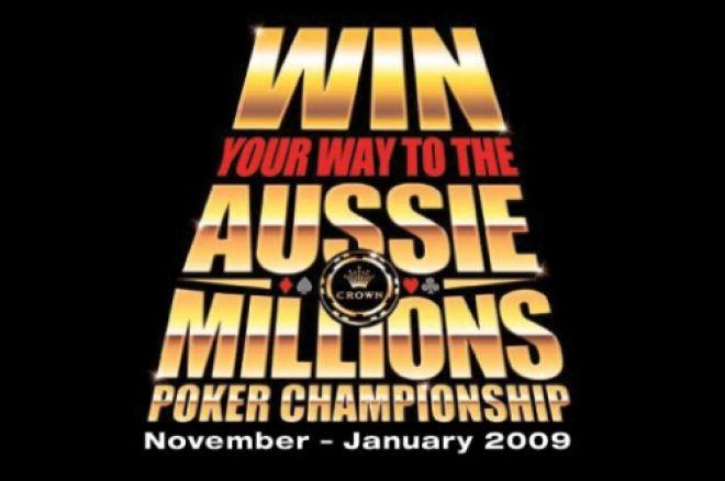 Tre $12 500 Aussie Millions paket från Titan Poker 0001