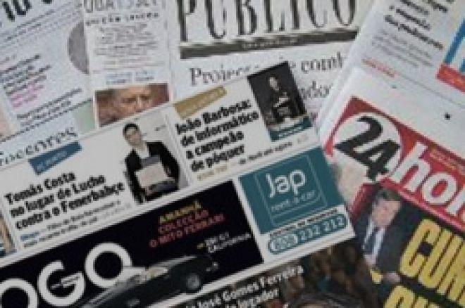 Vitória de João Barbosa no EPT Varsóvia em Destaque no Jornal 'O JOGO' 0001