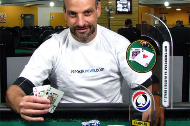 Mauricio Michel Vence 7ª Etapa Circuito PokerNews – Celso Nozema Campeão Circuito 0001