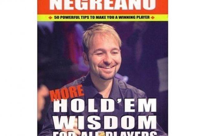 Livre Poker - Daniel Negreanu : 'More Hold'em Wisdom for All Players' 0001