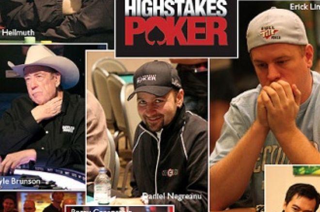 La quinta stagione degli High Stakes Poker riparte con Dario Minieri 0001