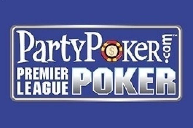 PartyPoker Premier League III Deciso il Tavolo Finale 0001