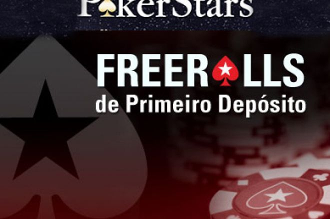 Freerolls Primeiro Depósito na PokerStars – Aproveite as Férias 0001
