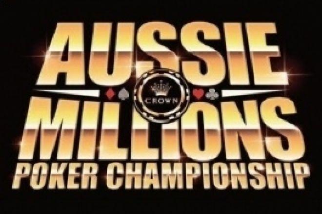 Spelschemat för 2009 års Aussie Millions presenterat 0001