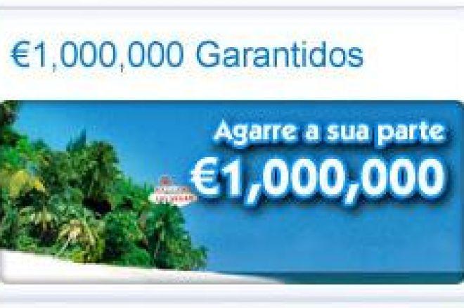€1,000,000 Garantidos na Paradise Poker. HOJE! 0001